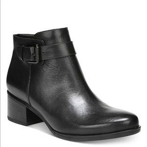 Leather Dora booties